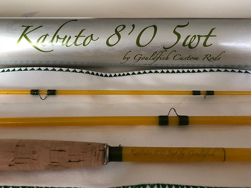 Kabuto Fly Rods 6623, 7033, 7643, 8053 (yellow, brown)