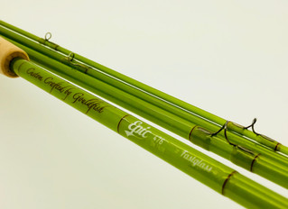 A very special Epic 7'6 4wt olive Fly rod