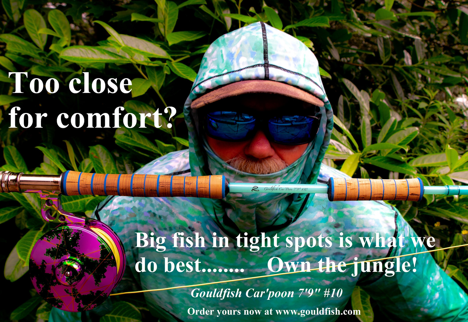 The Gouldfish Car'Poon 10wt and 12wt