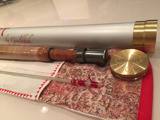 """Completed 5'6 0wt Ultralight Fly Rod: Project """"The Grim Reaper"""""""