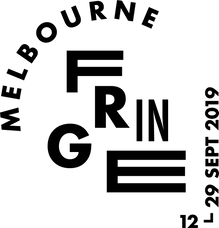 2019 MELBOURNE FRINGE LOGO PRIMARY  BLAC
