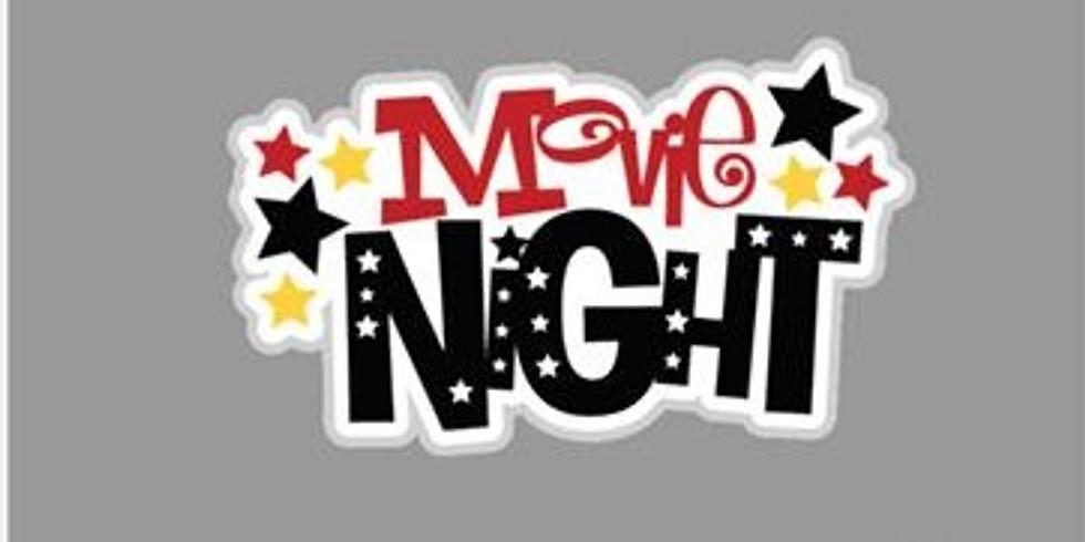 Popcorn Pajama Movie Night