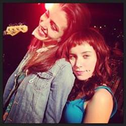 With Kathryn Cozumel