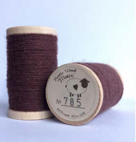 Moire Wool Threads (Purples & Reds)