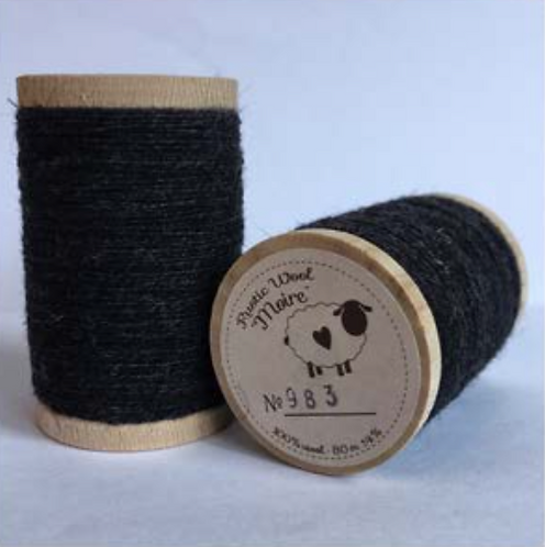 MoireWool Threads (Greys & Browns))