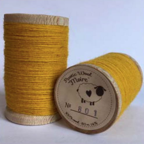 Moire Wool Threads (Oranges & Yellows)