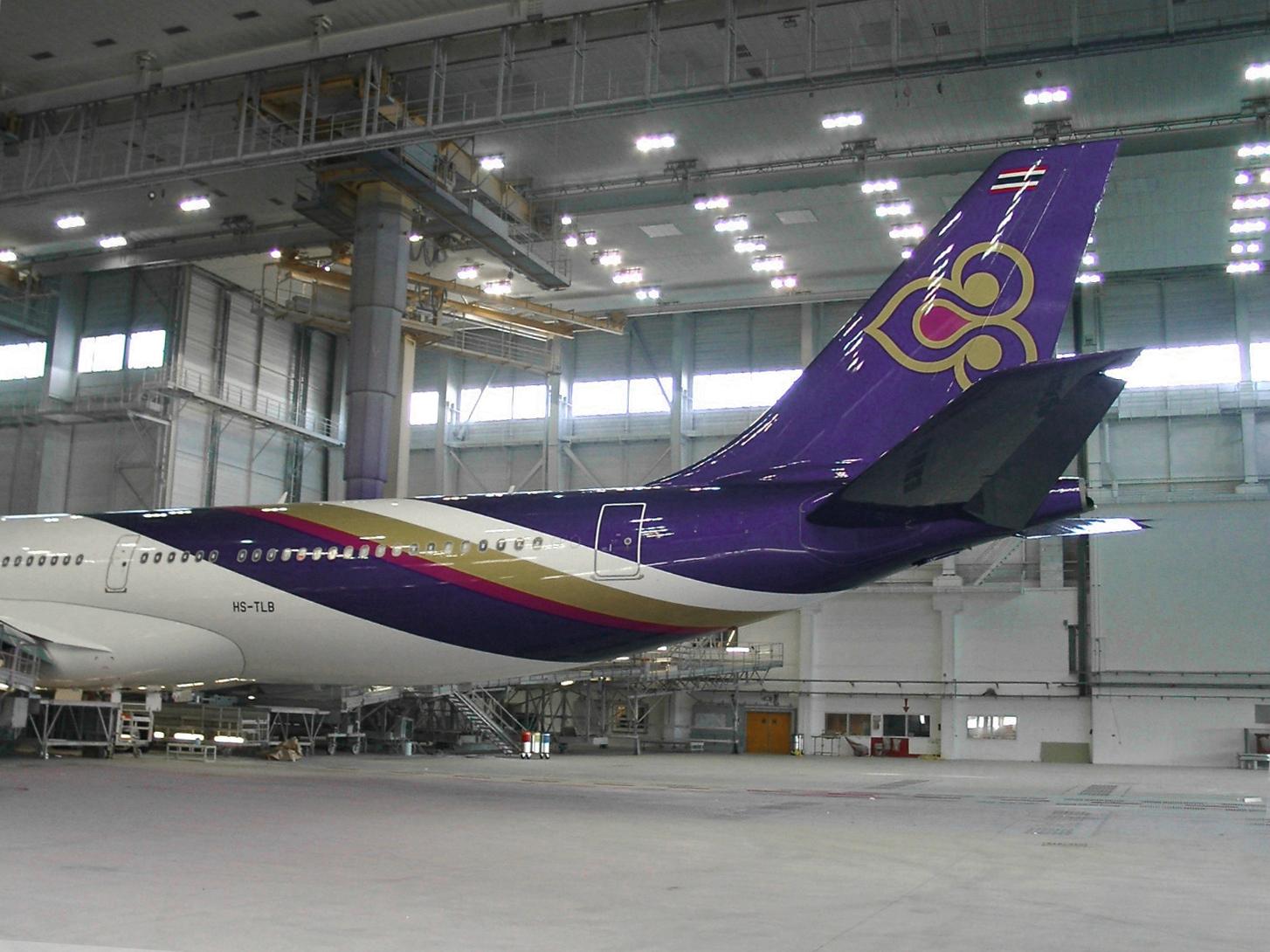 Thai Airways accent.swiss