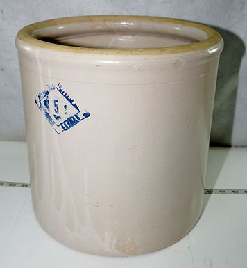 5 Gallon Pittsburgh Kansas Crock