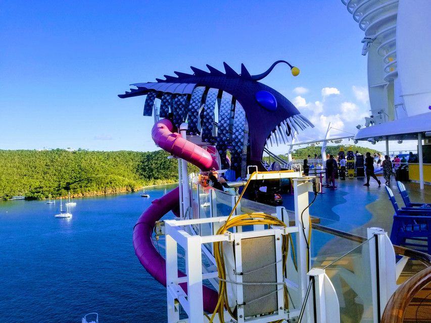 Ultimate Abyss onboard Harmony of the Seas | Cruise Ship Crayz Asset