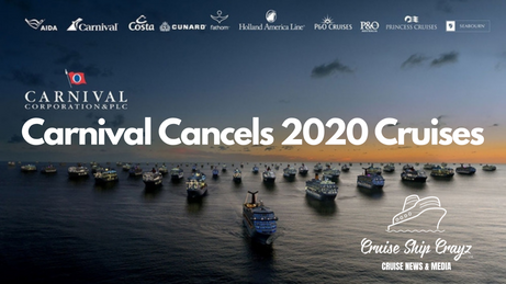 Carnival Cancels 2020 Sailings