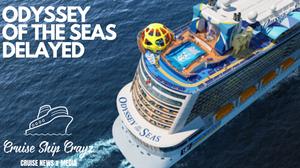 Odyssey of the Seas Cruise Ship Crayz Royal Caribbean