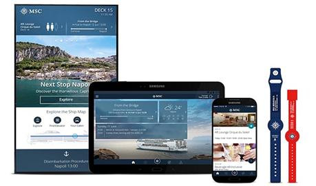 MSC Technology: Photo Credit MSC Cruises