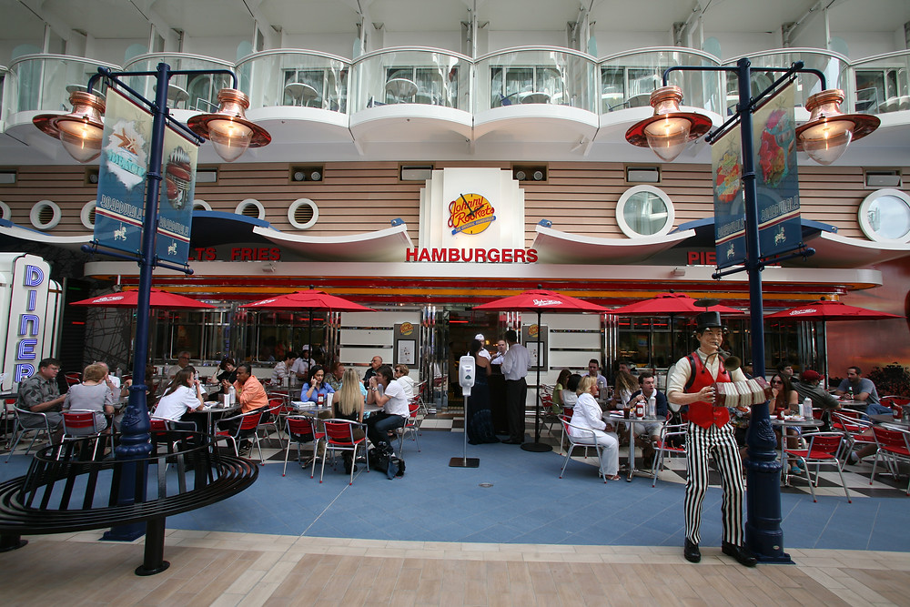 property of Royal Caribbean International Johnny Rockets