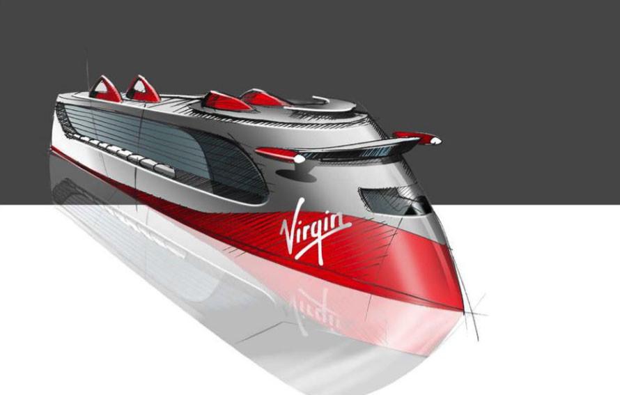 Virgin Cruise Ship Rendering