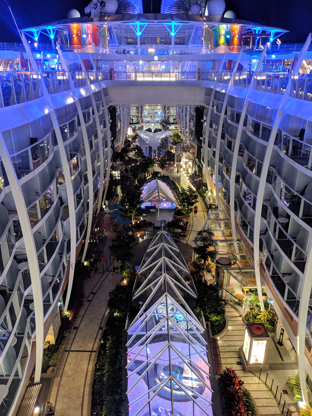 Symphony of the Seas Central Park| Cruise Ship Crayz Asset