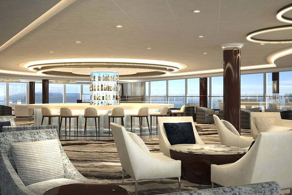 Credit: Norwegian Cruise Line, Observation Lounge