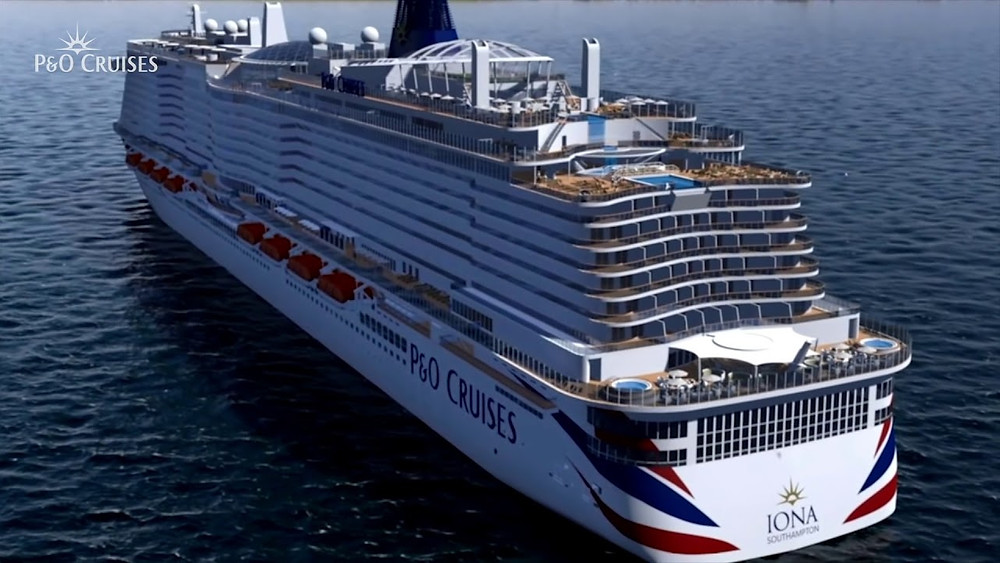 Asset of P&O CRUISES