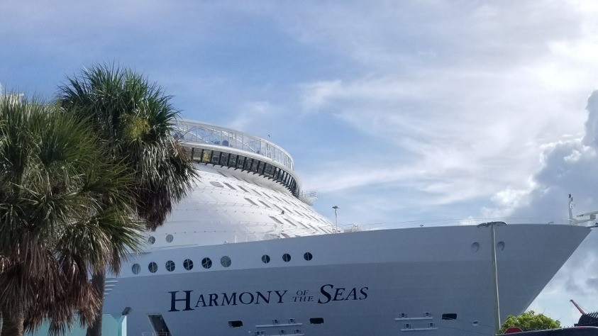 Harmony of the Seas in Ft Lauderdale. Asset of Cruise Ship Crayz