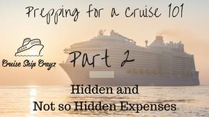 Hidden and Not So Hidden Expenses CSC
