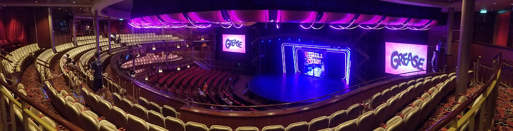 Royal Theatre onboard Harmony of the Seas. Asset of Cruise Ship Crayz
