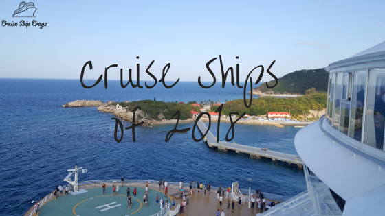 Cruise Ships of 2018 Header