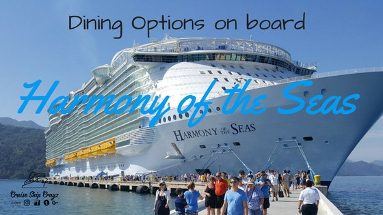 Harmony of the Seas Dining Options