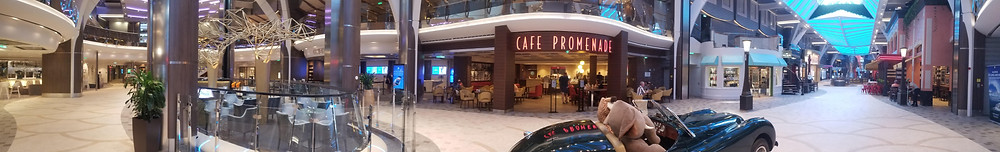 Royal Promenade onboard Harmony of the Seas. Asset of Cruise Ship Crayz