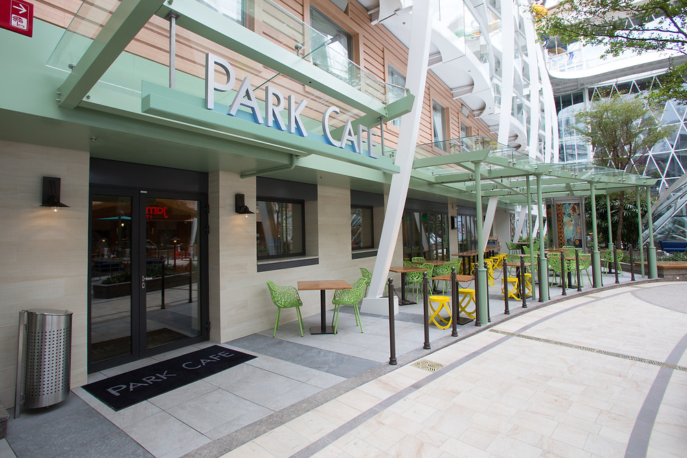 Park Cafe property of Royal Caribbean International
