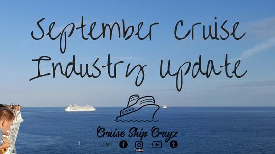 Cruise Ship Crayz September Update
