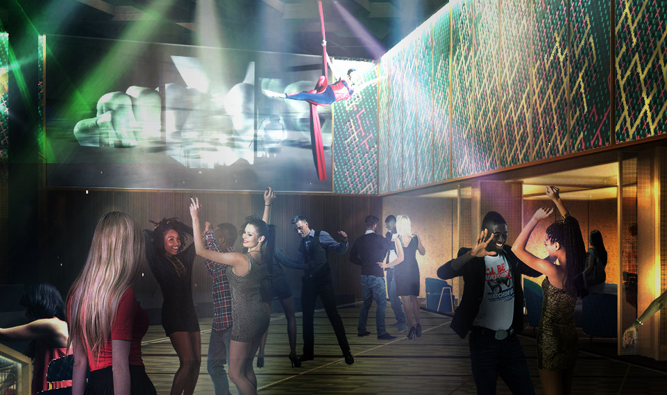 The Club Onboard Celebrity Edge