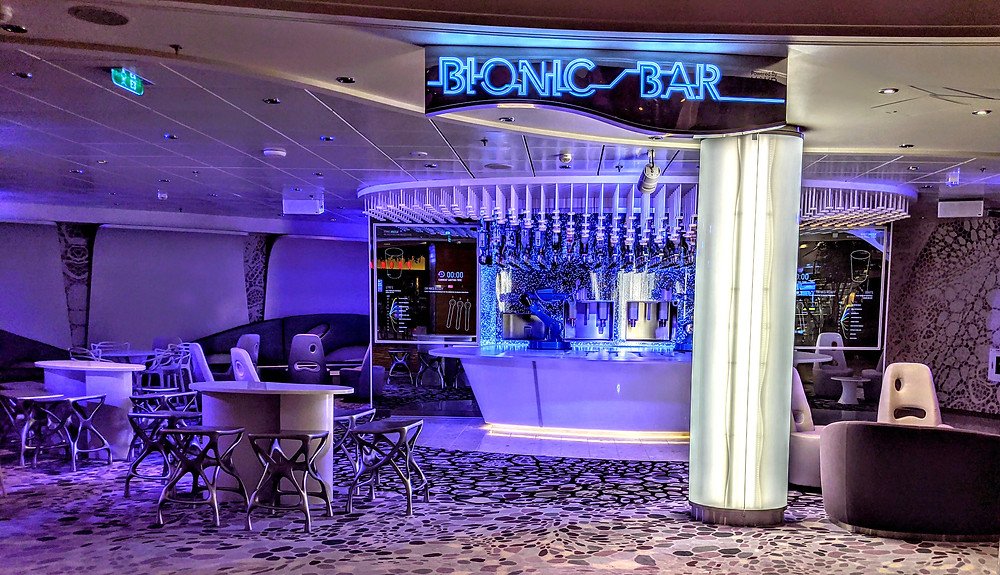 Bionic Bar onboard Oasis