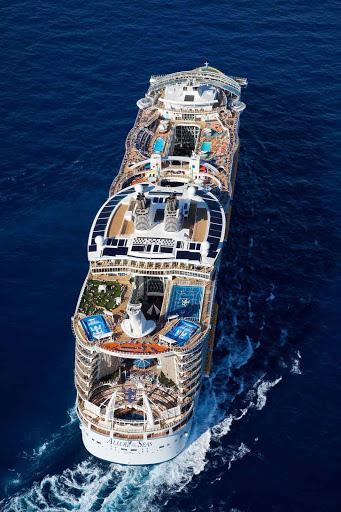 Oasisof the Seas arieal