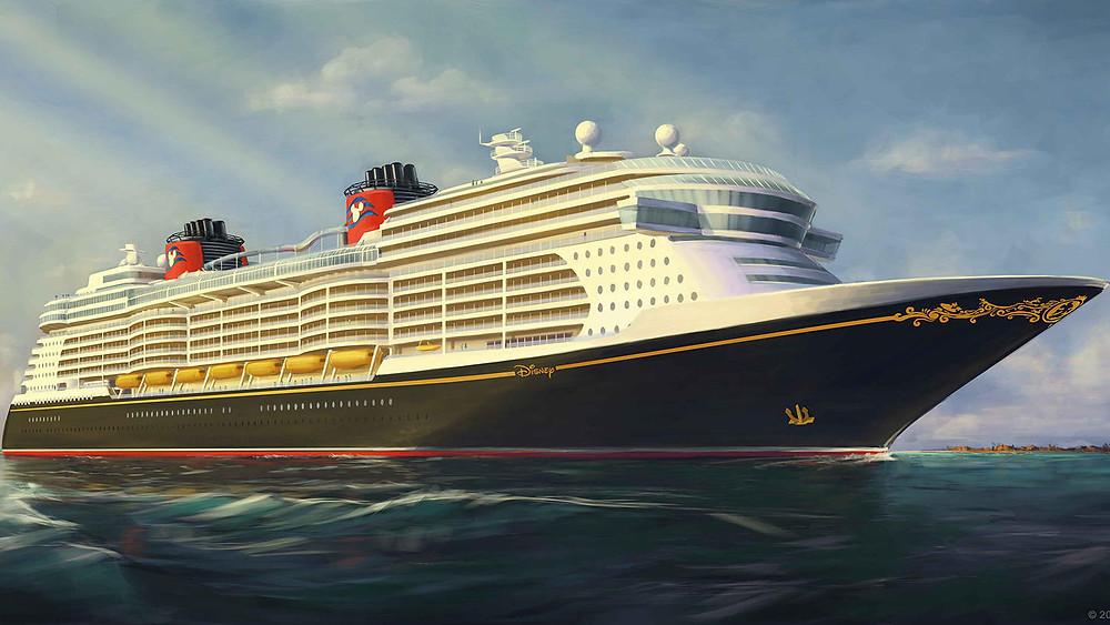 Disney Cruise Ship Rendering_ DCL Asset