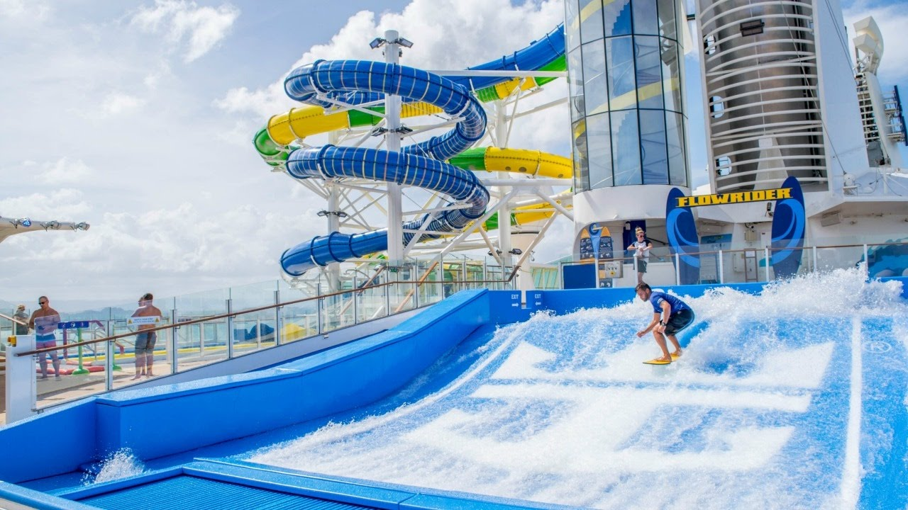 adventure of the Seas slides and flo