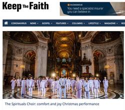 the spirituals in keep the faith mag