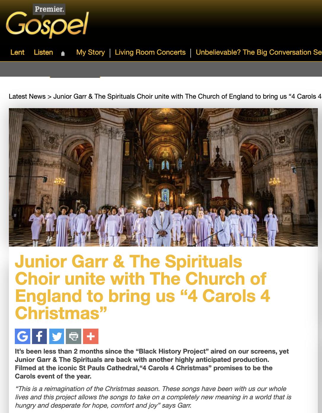Premier Gospel - The Spirituals