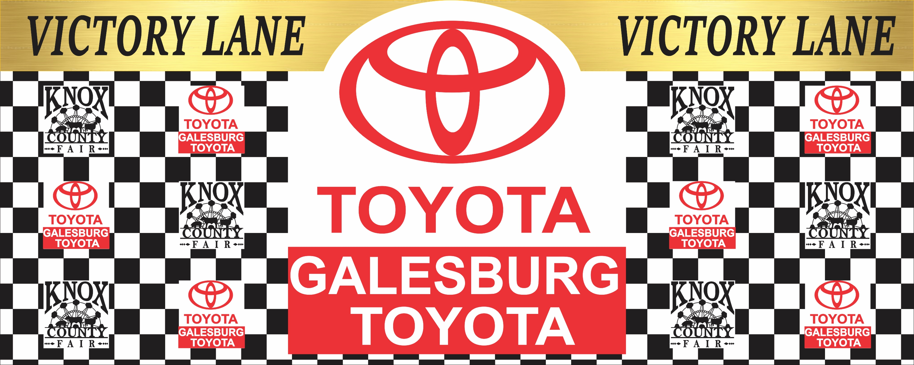 15x6fT Toyota Victory Lane Banner 1