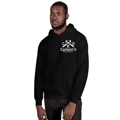 Carlson's Rustic Designs I Support Correctional officers Unisex Hoodie