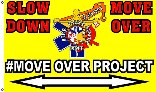 #MOVEOVERPROJECT Flag 3'x5'
