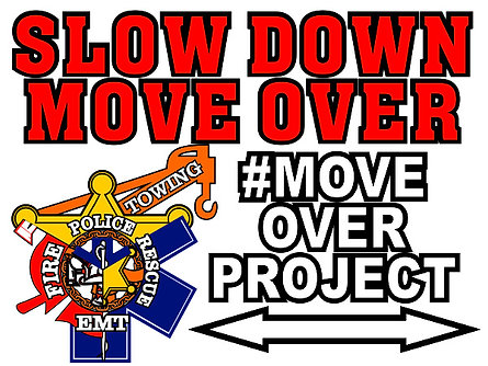 #MOVEOVERPROJECT Window Cling 12x9