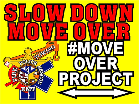 #MOVEOVERPROJECT Yard Sign 18x24