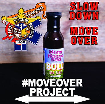 #MOVEOVERPROJECT Henn House BBQ BOLD Sauce