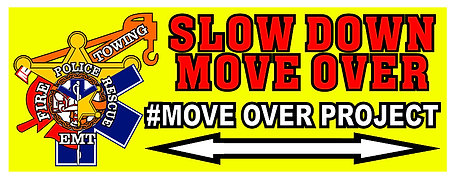 #MOVEOVERPROJECT Banner 8'X3'