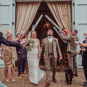 Ashley Wood Farm Wedding - Rosie and Adam