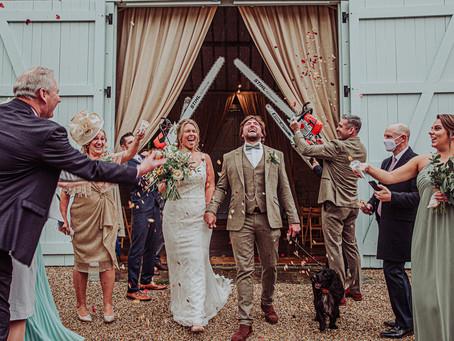 Ashley Wood Farm Wedding - Rosie and Adam