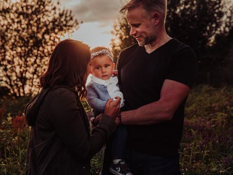 Fataha, Adam and Mya - Dorset Family Photography