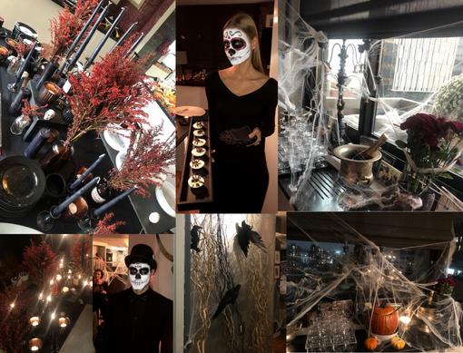 Halloween Cocktail Event