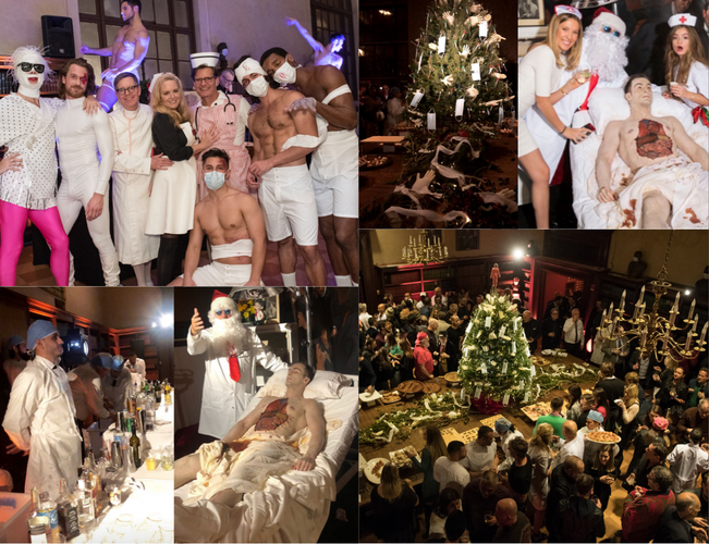 Medical Themed Holiday Party