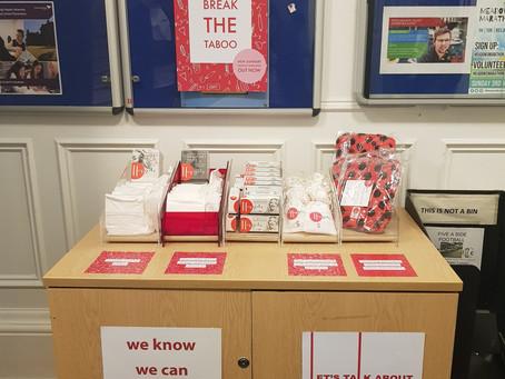 Menstruation station; Launch Day!