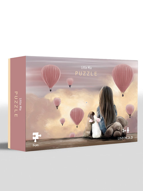 Little Mia Puzzle 4-pack